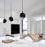 OGLE PENDANT LAMP IN BLACK