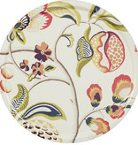 1001-65 SANGRIA CLOTTED CREAM ROUND TRAY