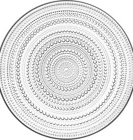IITTALA KASTEHELMI CLEAR PLATE, 31.5 CM