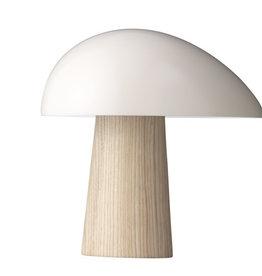NIGHT OWL TABLE LAMP IN SMOKEY WHITE SHADE