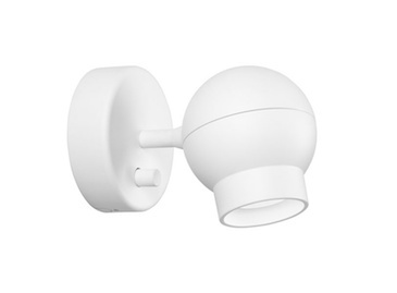 OGLE MINI WALL SINGLE LAMP IN WHITE