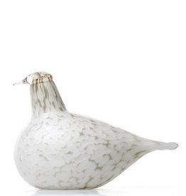 IITTALA BIRDS BY TOIKKA, WILLOW GROUSE
