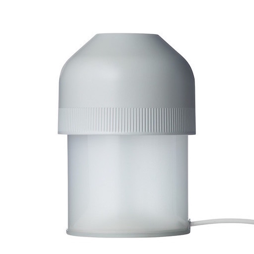 VOLUME LED TABLE LAMP, IN FADE TO GREY COLOUR