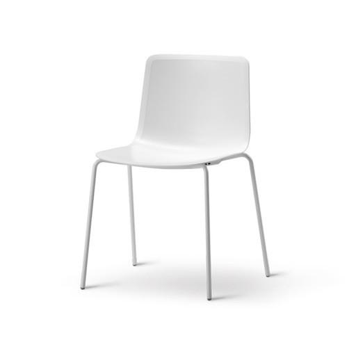 FREDERICIA 4200 PATO CHAIR IN WHITE