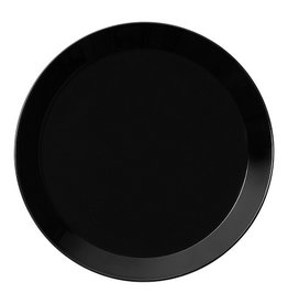 IITTALA TEEMA BLACK PLATE, FLAT, 26 CM