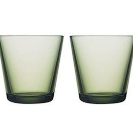 IITTALA KARTIO TUMBLER, FOREST GREEN, 21 CL, 2-PACK