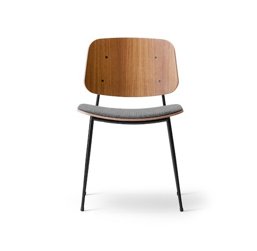FREDERICIA 3061 SOBORG CHAIR IN SMOKED OAK