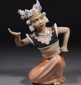 MANKS ANTIQUES BALINESE DANCER FIGURE