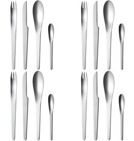 AJ STAINLESS STEEL 16PCS CUTLERY SET