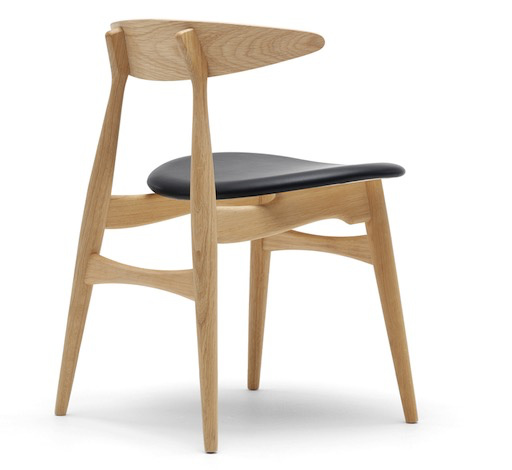 CH33P DINING CHAIR IN SOLID OAK FRAME