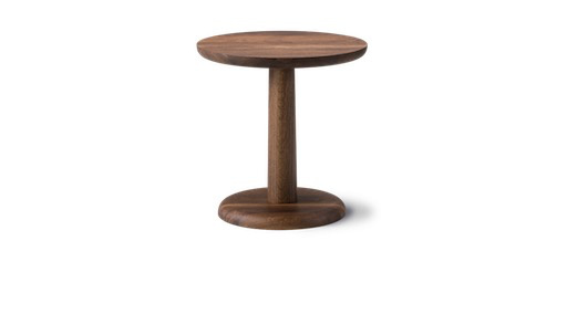 1290 PON ROUND COFFEE TABLE IN SMOKED OAK