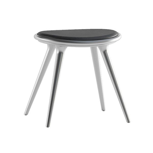 01023 ETHICAL LOW STOOL, RECYCLED ALUMINIUM