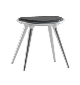 MATER 01023 ETHICAL LOW STOOL, RECYCLED ALUMINIUM