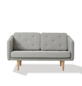 (DISPLAY) 2002 NO. 1 2-SEATER SOFA IN FABRIC