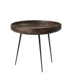 MANGO BOWL MEDIUM TABLE, SIRKA GREY FINISHED MANGO WOOD
