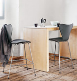 FRITZ HANSEN 3197 SERIES 7 BAR STOOL IN DARK STAINED OAK