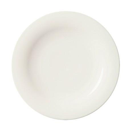 SARJATON PLATE FLAT, WHITE, 26 CM