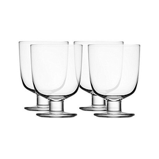LEMPI UNIVERSAL GLASS, CLEAR, 34 CL, 4-PIECE SET
