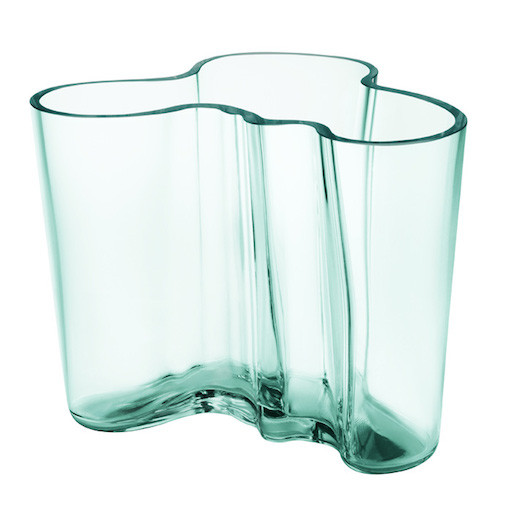 AALTO VASE, WATER GREEN, 120 MM
