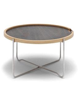 CARL HANSEN & SON CH417 TRAY TABLE IN OAK VENEER