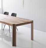 JEPPE UTZON TABLE #1 IN WILD OAK SANDWICH (DISPLAY)