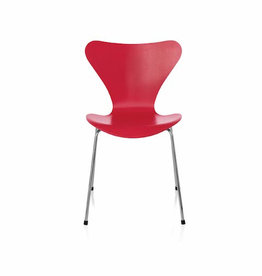 3177 SERIES 7 STACKABLE CHILDREN'S CHAIR IN RED COLOURED ASH