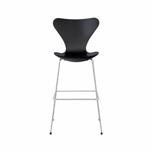 3197 SERIES 7 BAR STOOL IN DARK STAINED OAK
