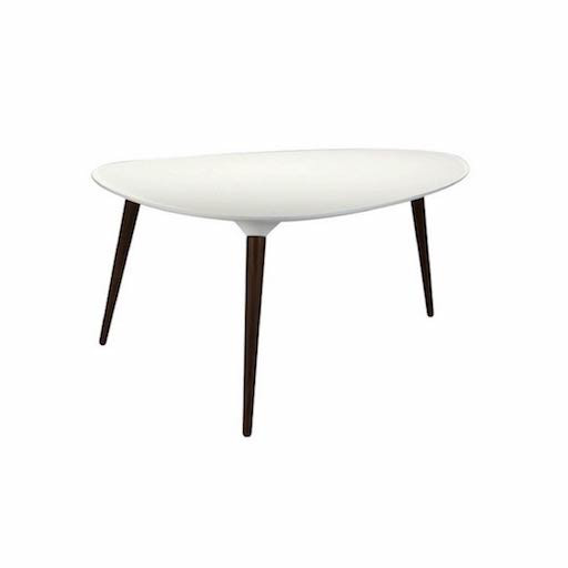 FREDERICIA 1230 ICICLE TRIANGULAR COFFEE TABLE