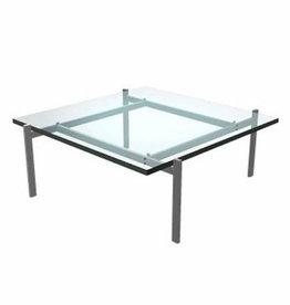PK61 COFFEE TABLE IN GLASS TOP (DISPLAY)