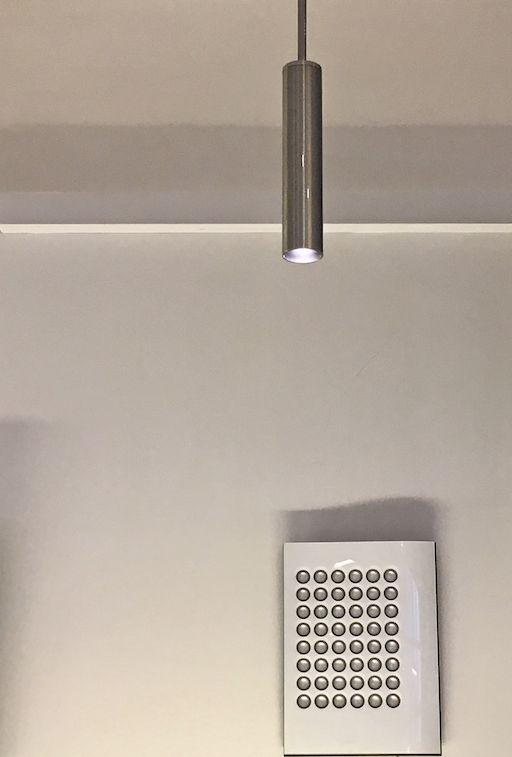 RAY LED PENDANT LAMP IN BRUSHED ALUMINIUM