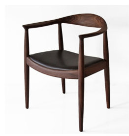 PP503 THE CHAIR IN CLEAR BIO OIL TREATED WALNUT