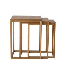 TRIO 250 NEST OF TABLES, 3-PC SET