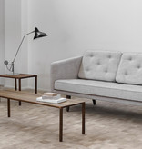 FREDERICIA 6700 PILOTI SIDE TABLE IN SMOKED OAK WOOD