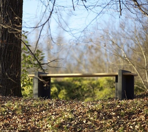 Play Wood Bench Fir Wood Axis Treated For Outdoor By