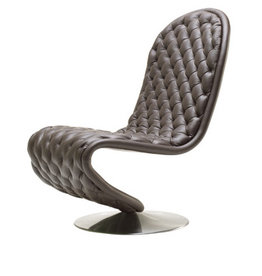 SYSTEM 123 S-SHAPED LOW LOUNGE CHAIR DELUXE