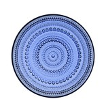 KASTEHELMI PLATE, ULTRAMARINE BLUE, 17 CM