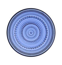 IITTALA KASTEHELMI PLATE, ULTRAMARINE BLUE, 17 CM