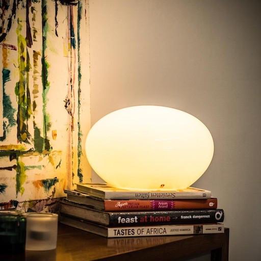 KUUKUNA LAMP SMALL IN WHITE