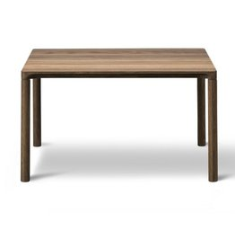 PILOTI SIDE TABLE IN SMOKED OAK WOOD