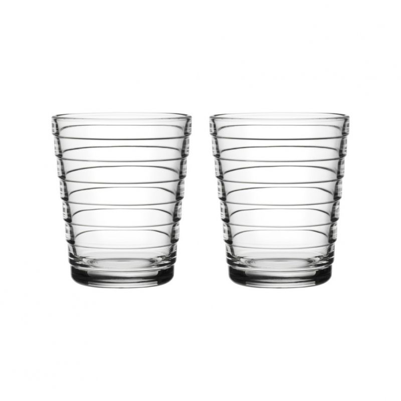 AINO AALTO TUMBLER, CLEAR, 22 CL, 2-PACK