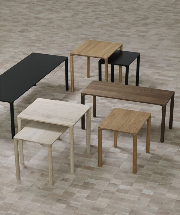 FREDERICIA PILOTI SIDE TABLE IN SMOKED OAK WOOD