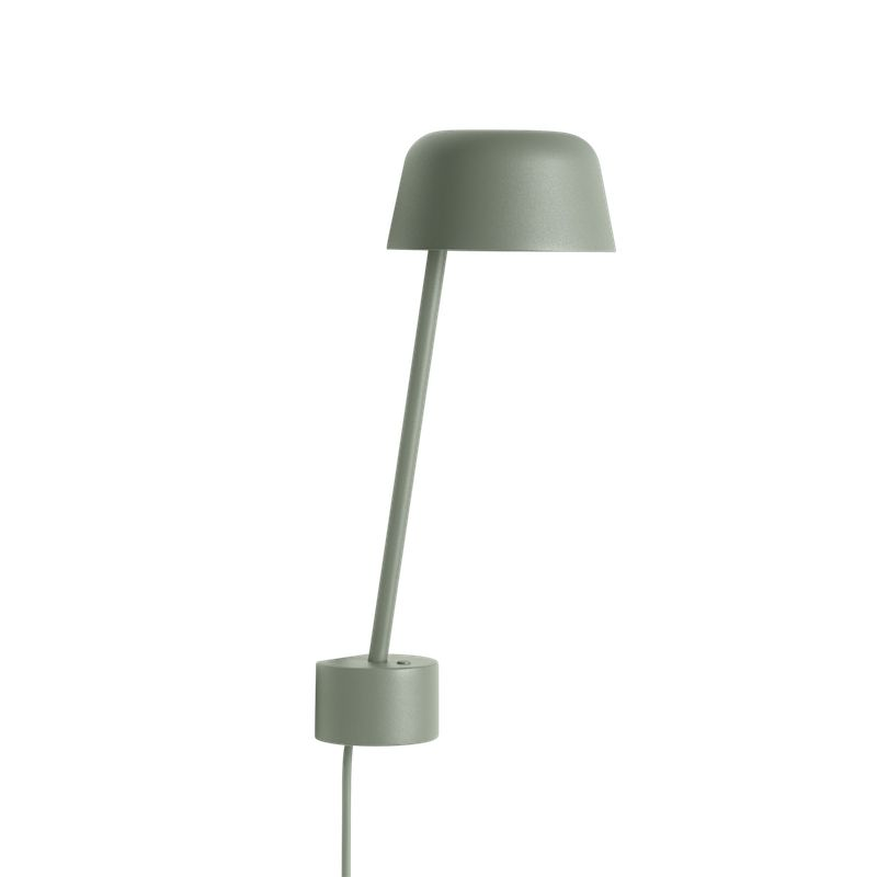 LEAN WALL LAMP IN CASTED ALUMINUM