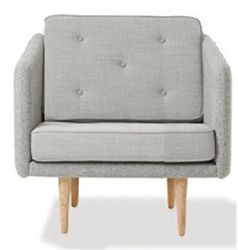 FREDERICIA (DSIPLAY) 2001 NO. 1 CHAIR IN FABRIC