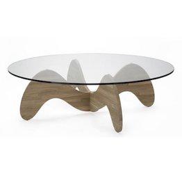WAIKIKI COFFEE TABLE IN SOLID OAK WOOD