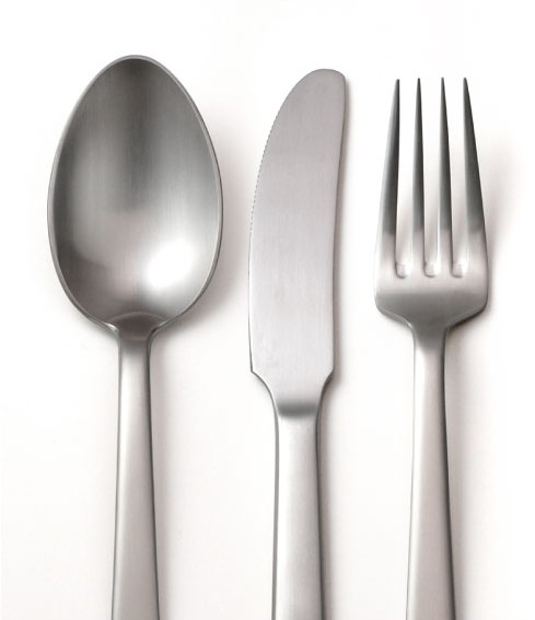 KAY BOJESEN GRAND PRIX 3 PCS STAINLESS STEEL LUNCHEON CUTLERY SET