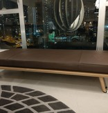 (DISPLAY) 1700 SPINE DAYBED (WITHOUT HEAD CUSHION), OAK LACQUER FINISH