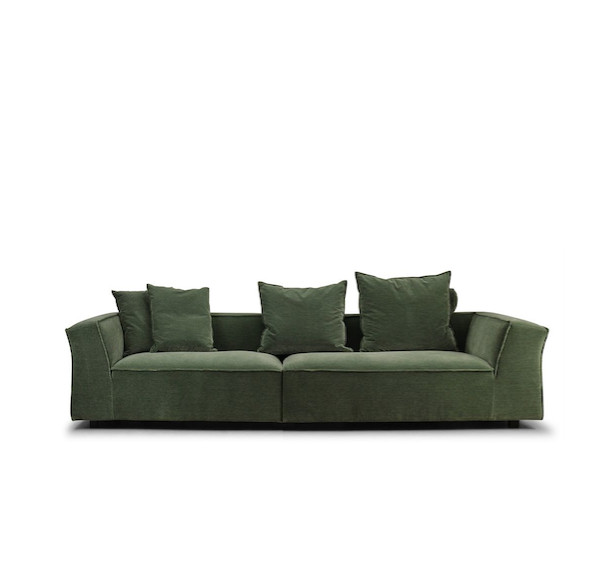 GOTHAM SOFA, UPHOLSTERED IN #09 LOUIS FABRIC