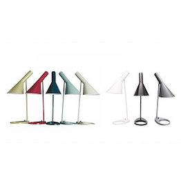 LOUIS POULSEN AJ TABLE LAMP IN WHITE