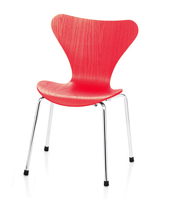 (DISPLAY) 3177 SERIES 7 STACKABLE CHILDREN'S CHAIR IN RED