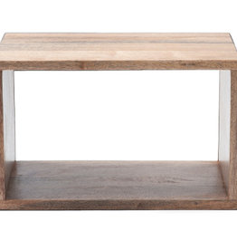 (DISPLAY) MANGO BOX SYSTEM,  MANGOWOOD IN NATURAL STAIN (SMALL)